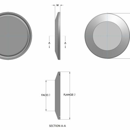 Stainless Steel Blanking Cap