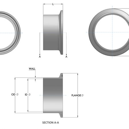 Stainless Steel Dairy and Food Ferrules